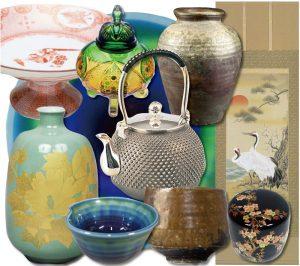 東京の骨董品買取の千代屋バナー