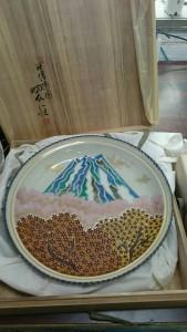 九谷焼飾皿