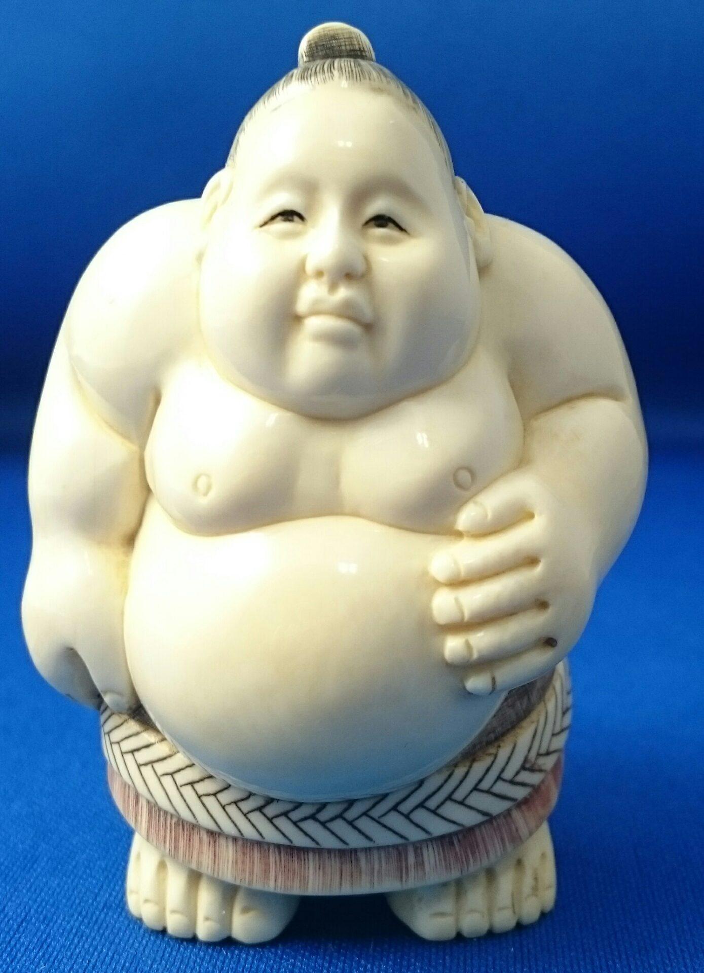世田谷区下北沢出張買取象牙相撲