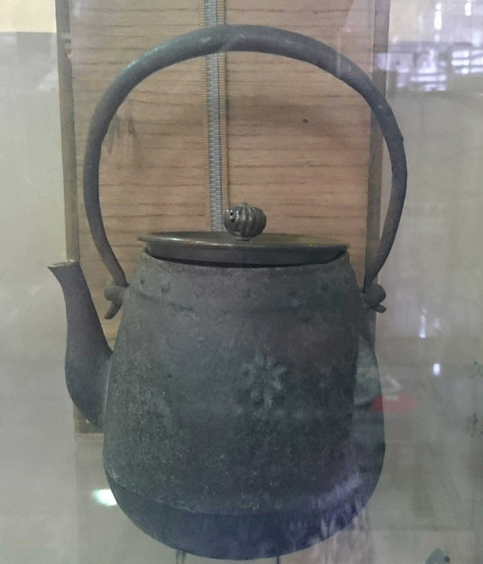 宮崎寒稚作園鉄瓶