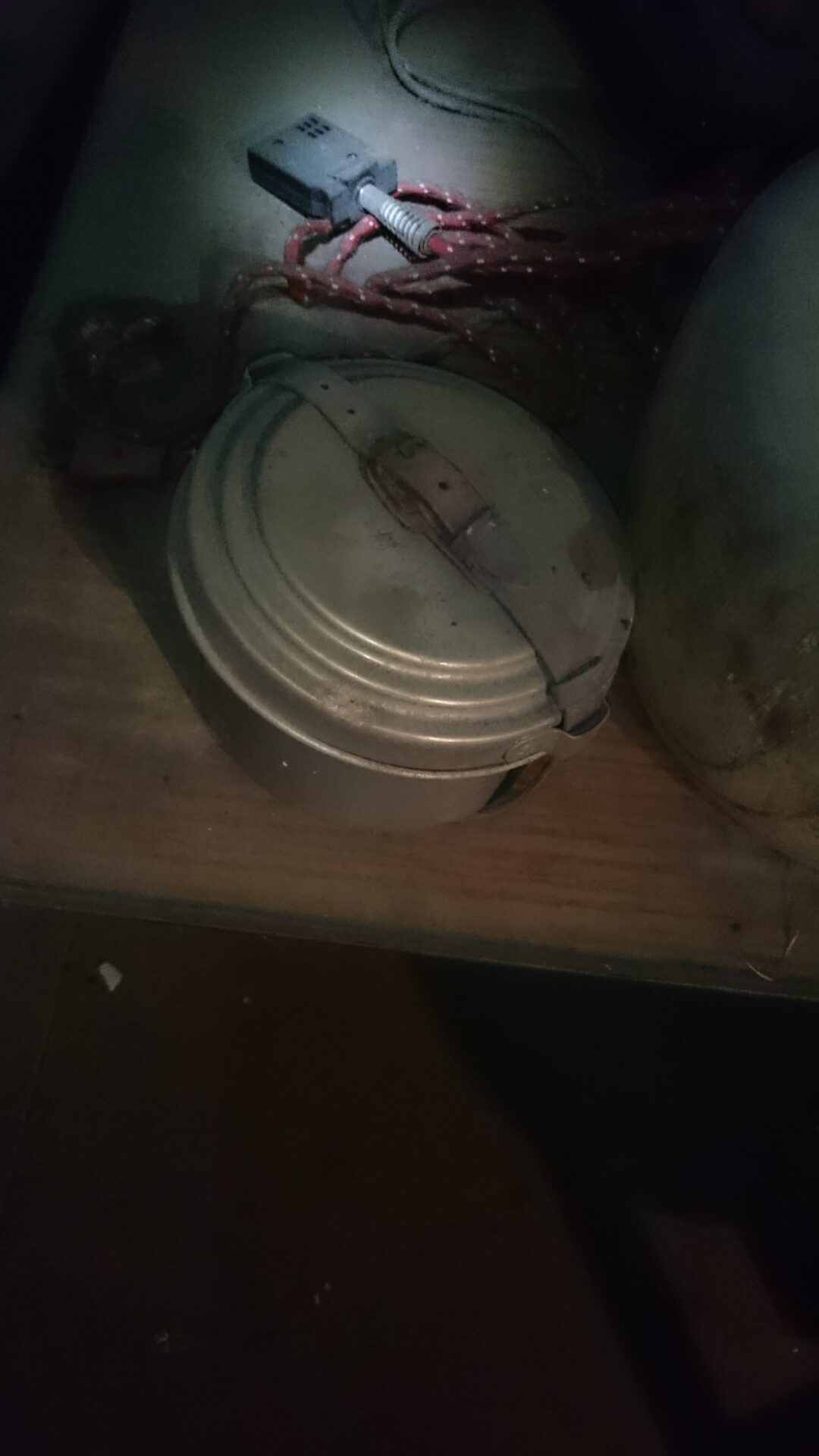 蔵の中 お弁当箱