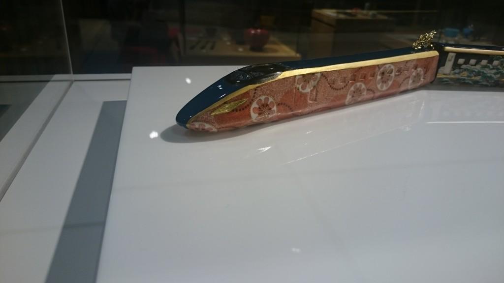 九谷焼の新幹線