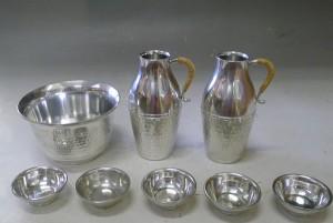 錫製 酒器 徳利 盃 杯洗