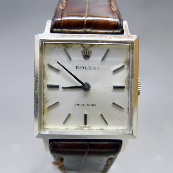 ロレックス プレシジョン 手巻き レディース腕時計