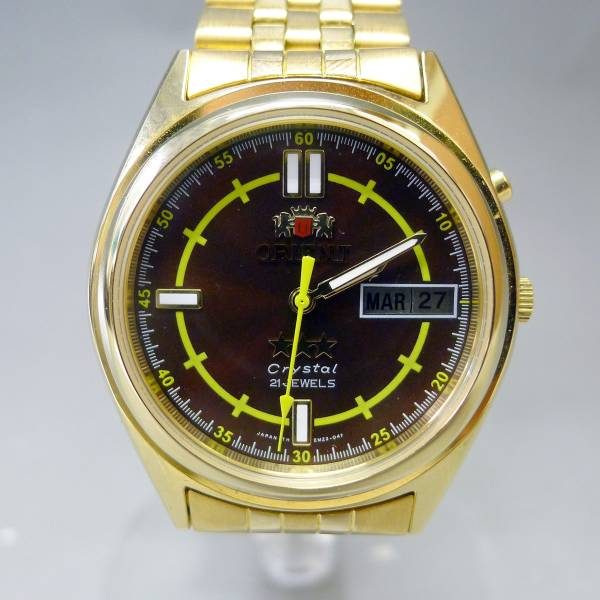 オリエント 21石 腕時計