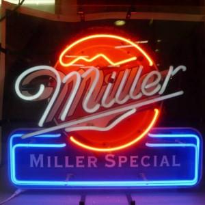miller電飾看板