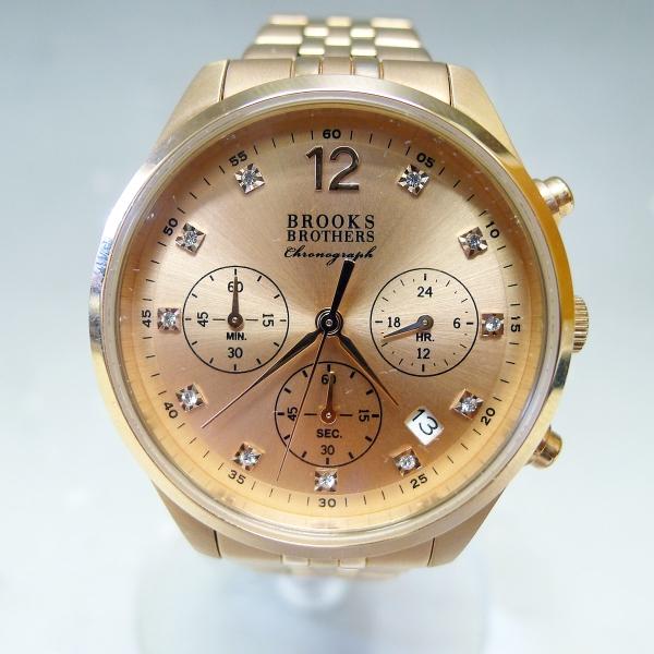 ブルックスブラザーズ 腕時計 クロノグラフ クォーツ