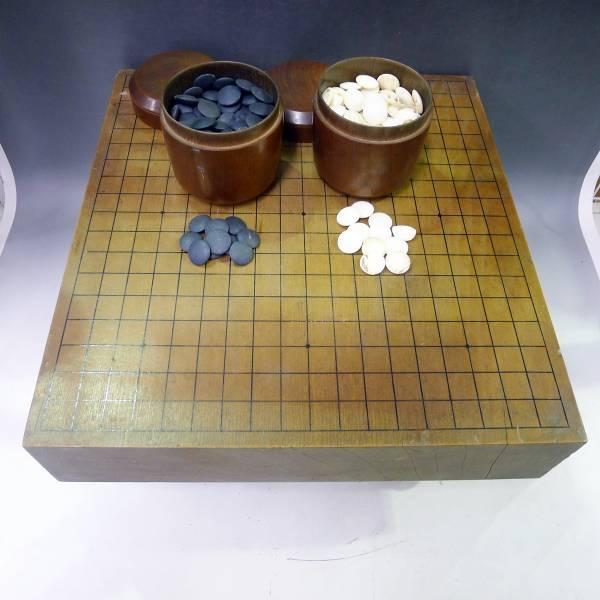 囲碁盤 碁石 井上因碩 十一世