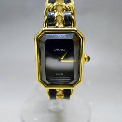 シャネル プルミエール XL 腕時計 クォーツ QZ CHANEL
