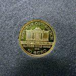 1/10オンス oz 10ユーロ 金貨 2014年 の写真です。