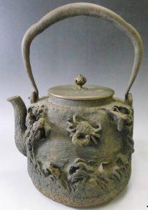 金龍堂 茶道具 鉄瓶の写真