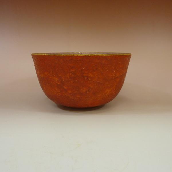 九谷焼吉田幸央 彩色金彩 菓子鉢