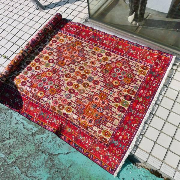 トルコ キルム 絨毯 カーペット