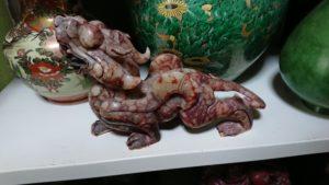 中国美術石彫りの龍